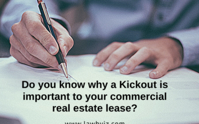 Kickouts – Commercial Real Estate Terms