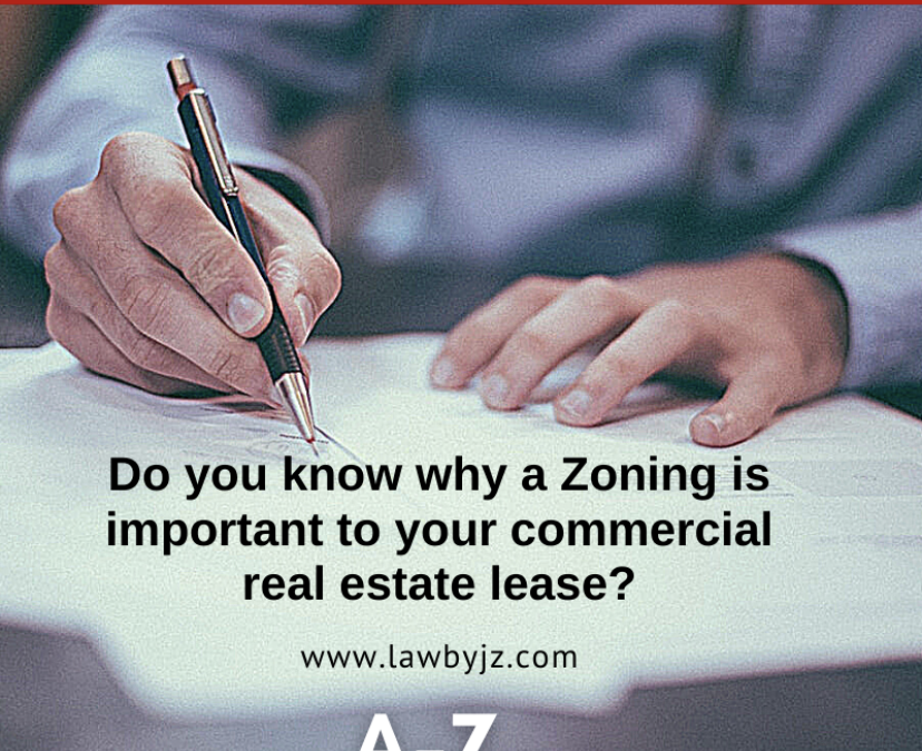 Zoning – Commercial Real Estate Terms