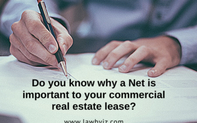 Net – Commercial Real Estate Terms