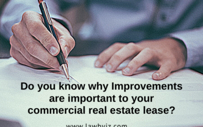 Improvements – Commercial Real Estate Terms