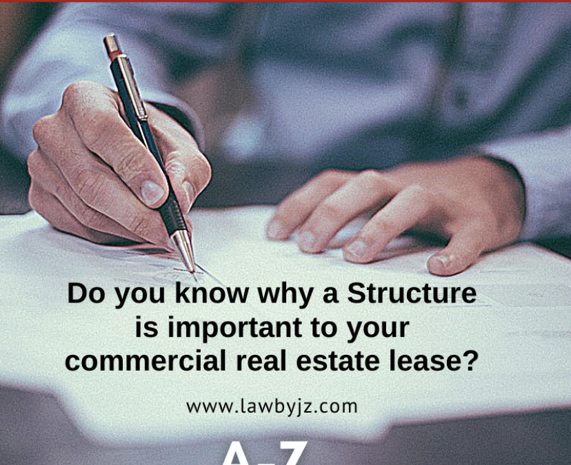 Structure – Commercial Real Estate Terms