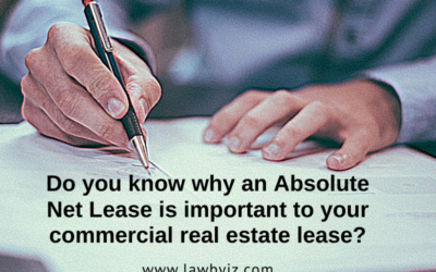 Absolute Net Lease – Commercial Real Estate Terms