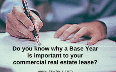 Base Year – Commercial Real Estate Terms