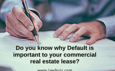 Default – Commercial Real Estate Terms